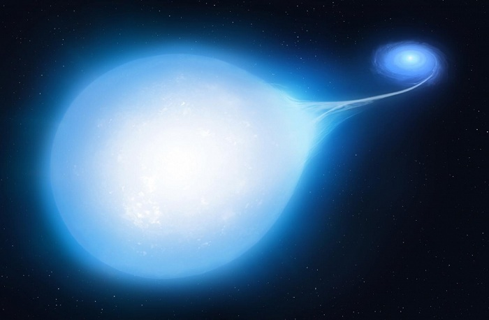 Astronomlar qeyri-adi qoşa ulduz aşkar ediblər