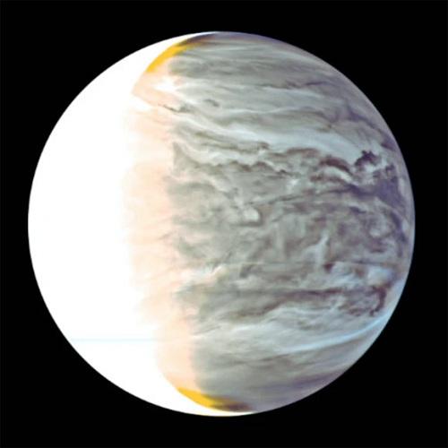 Солнечный свет, фильтрующийся через венерианские облака, может поддерживать фотосинтез, подобный земному