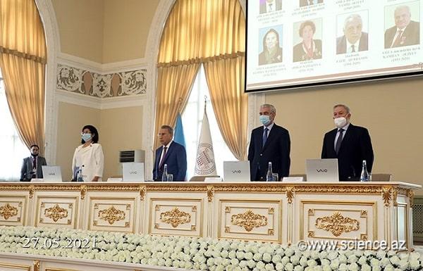 Обращение Общего собрания НАНА к Президенту Азербайджанской Республики Ильхаму Алиеву