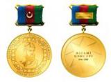 AMEA-nın Nizami Gəncəvi adına Qızıl medalının Təsviri təsdiq edildi