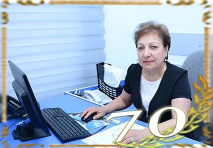 AMEA-nın müxbir üzvü Məsumə Məmmədovanın 70 yaşı tamam olur
