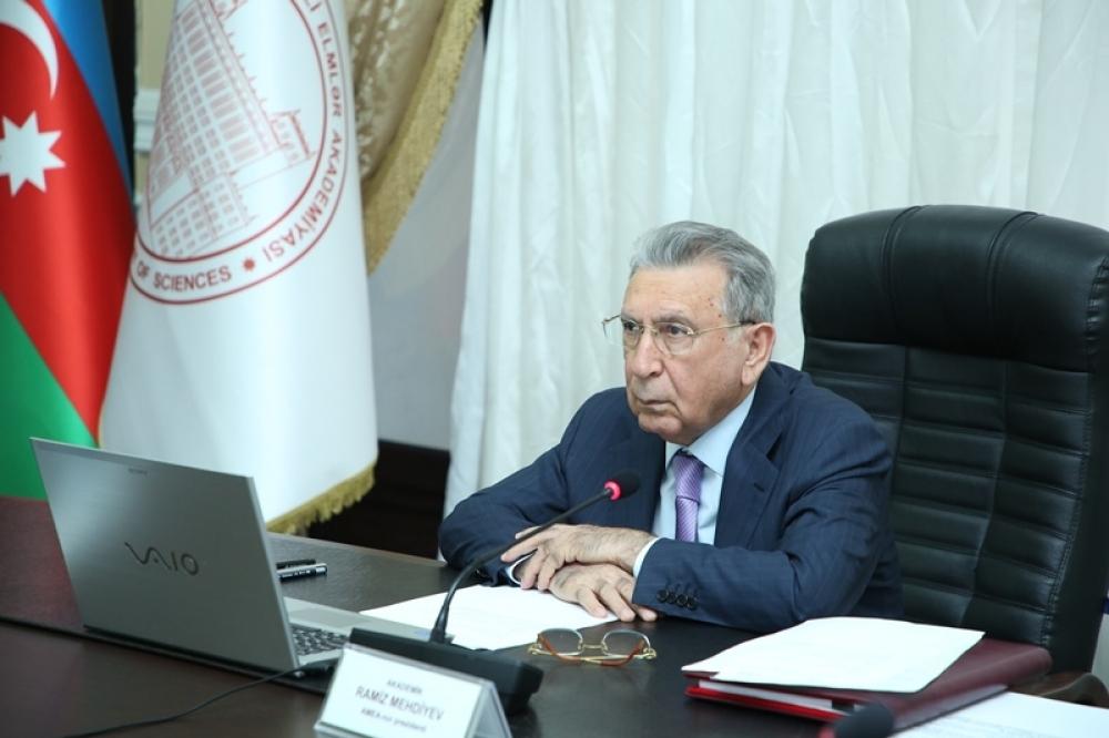 AMEA prezidenti akademik Ramiz Mehdiyevin 27 sentyabr - Anım Günü ilə bağlı AMEA kollektivinə müraciəti
