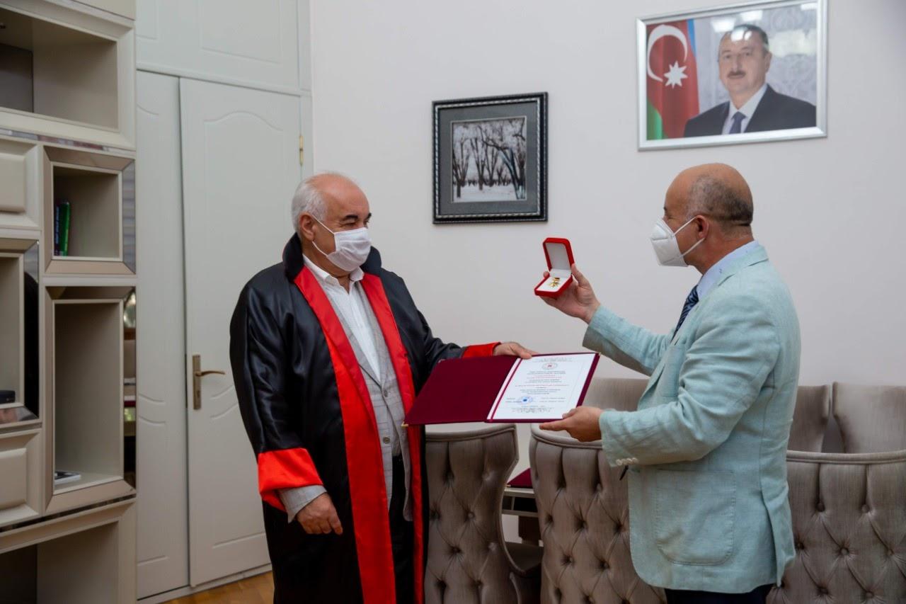 Профессор Эльтон Мамедов избран действительным членом Международной академии наук исследований тюркского мира