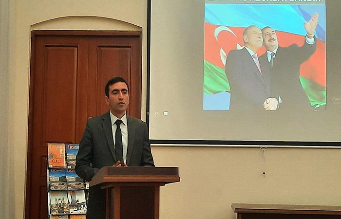 """""""Qarabağ bizimdir, Qarabağ Azərbaycandır"""" adlı tədbir keçirilib"""