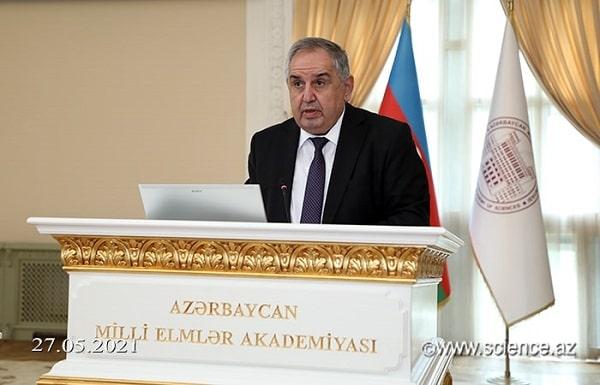 Academician Arif Hashimov was elected academician-Secretary of ANAS
