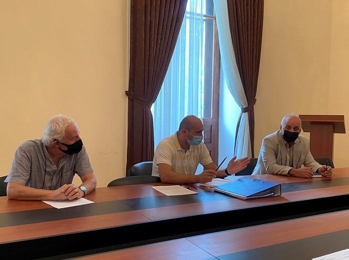 Neft və Qaz İnstitutunda I kurs magistrantlarla görüş keçirilib