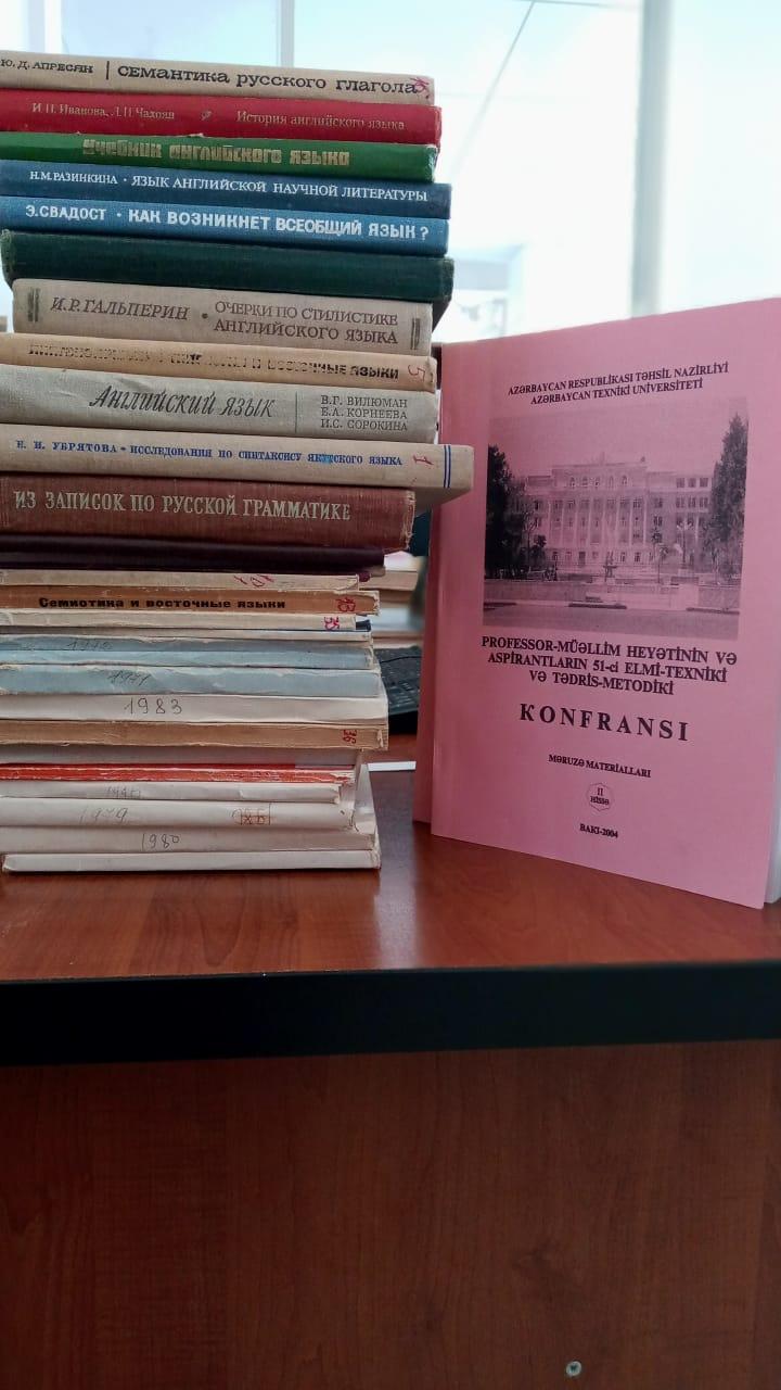 Mərkəzi Elmi Kitabxananın fondlarına yeni nəşrlər daxil olmaqda davam edir
