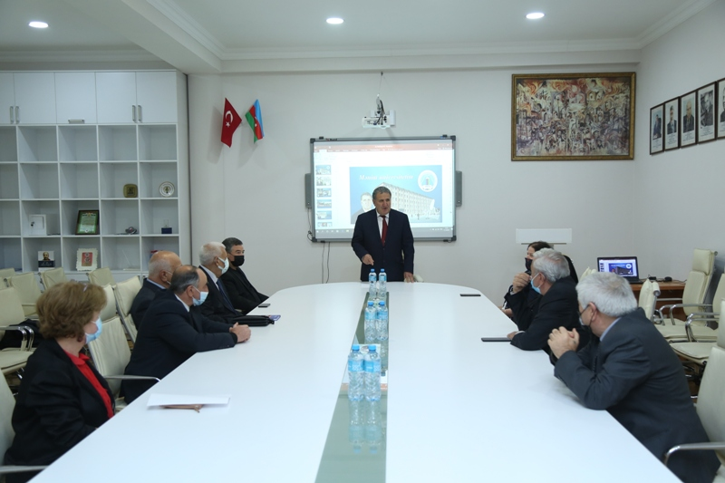 Naxçıvan Dövlət Universitetinin məzunlarının 50 illik buraxılış yubileyi ilə əlaqədar görüş keçirilib