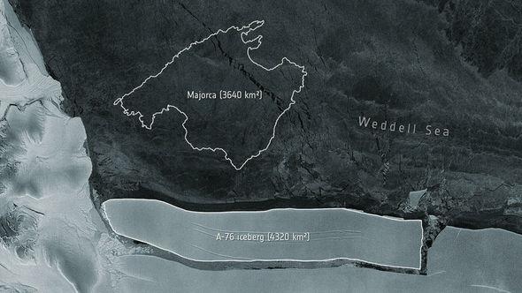 Dünyanın ən böyük aysberqi Antarktidadan ayrılıb