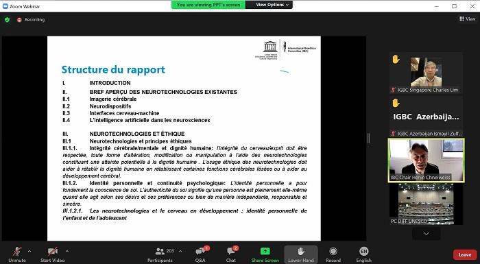 Azərbaycanlı alim UNESCO-nun Hökumətlərarası Bioetika Komitəsinin 12-ci sessiyasında iştirak edib