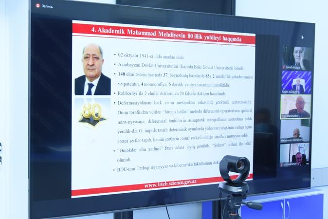 FRTEB-in Ümumi yığıncağı akademik Məhəmməd Mehdiyevin 80 illik yubileyinin keçirilməsi barədə qərar qəbul edib