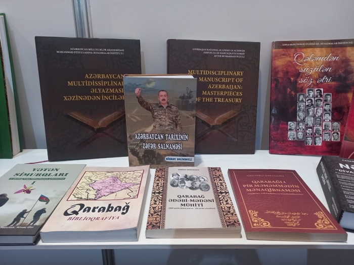 Əlyazmalar İnstitutunun nəşrləri VII Bakı Beynəlxalq Kitab Sərgi - Yarmarkasında nümayiş olunur