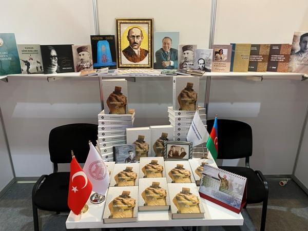 Hüseyn Cavidin Ev Muzeyinin nəşrləri VII Bakı Beynəlxalq Kitab Sərgi-Yarmarkasında nümayiş olunur