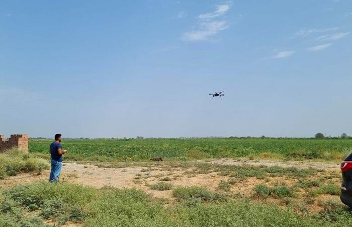 """""""Elm və Texnologiya Parkı"""" MMC kənd təsərrüfatında tətbiq olunan pilotsuz uçuş aparatı istehsal edib"""