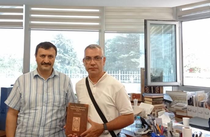 Əlyazmalar İnstitutunun əməkdaşları Atatürk Kitabxanasında araşdırma aparıblar