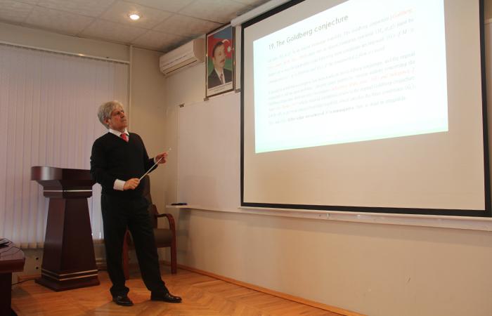 AMEA Riyaziyyat və Mexanika İnstitutunda növbəti ümuminstitut seminarı keçirildi