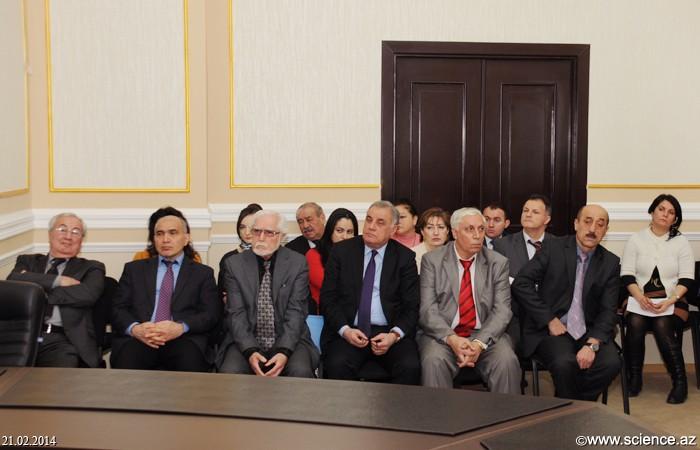 AMEA HİEB və Naxçıvan Bölməsi üzrə doktorantların dissertasiya mövzuları təsdiq edildi