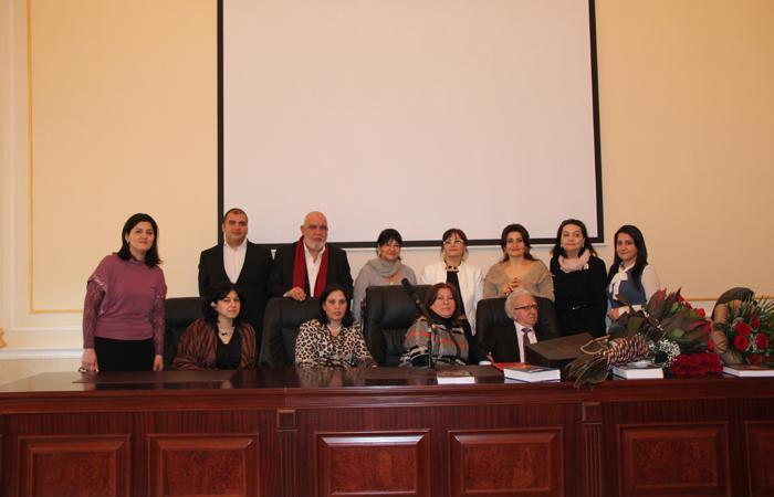 AMEA-nın müxbir üzvü Şamil Fətullayev-Fiqarovun 85 illiyinə həsr olunmuş elmi sessiya keçirildi