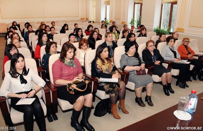 AMEA-nın institut və təşkilatlarının kadrlar şöbəsinin məsul şəxsləri ilə seminar keçirildi