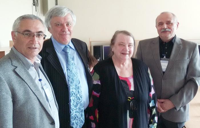 Akademik Hətəm Quliyev Kiyevdə keçirilən beynəlxalq konfransda iştirak edib