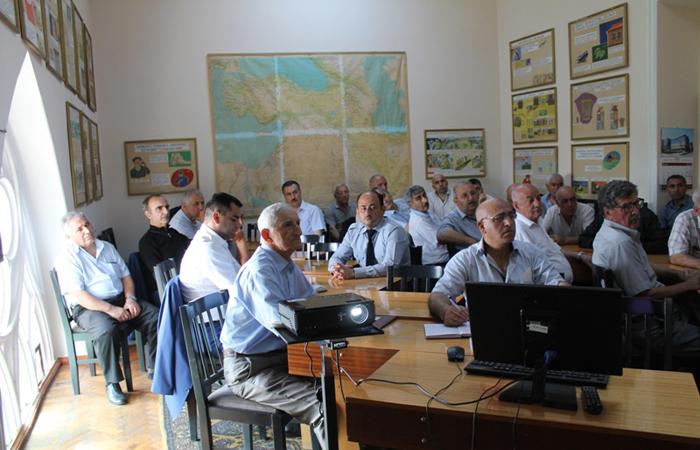 İkinci xüsusi şöbənin növbəti seminar-məşğələsi keçirilib
