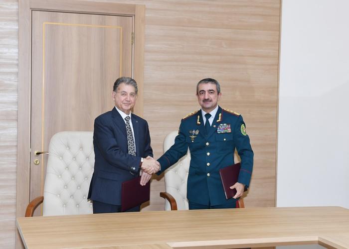 AMEA ilə Dövlət Sərhəd Xidməti arasında niyyət sazişi imzalanıb