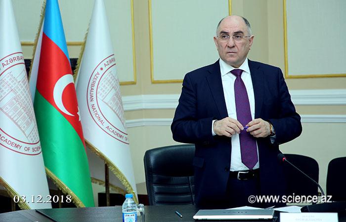 Первое заседание Координационного совета профессоров НАНА