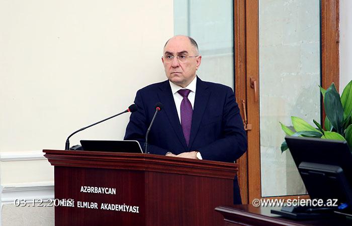 Состоялось заседание Совета директоров научных учреждений НАНА