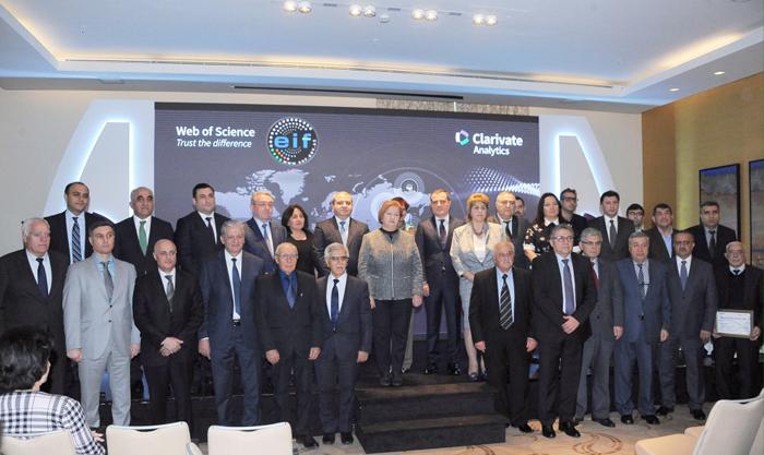 """""""Tətbiqi və Hesablama Riyaziyyatı"""" jurnalı """"Web of Science Azerbaijan-2018"""" mükafatına layiq görülüb"""