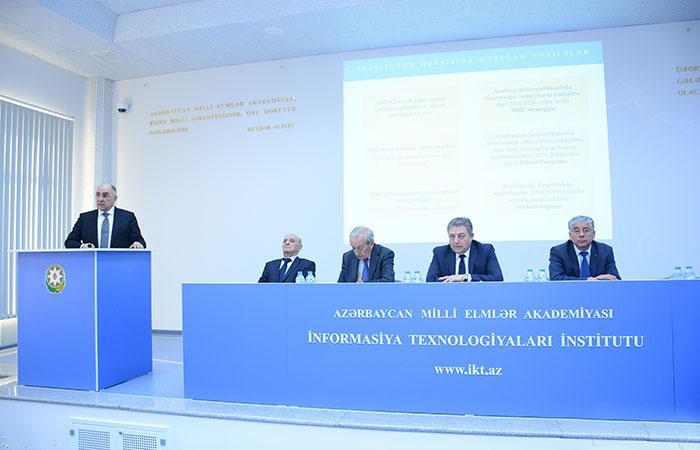 Fizika-Riyaziyyat və Texnika Elmləri Bölməsinin illik hesabatı təqdim edilib