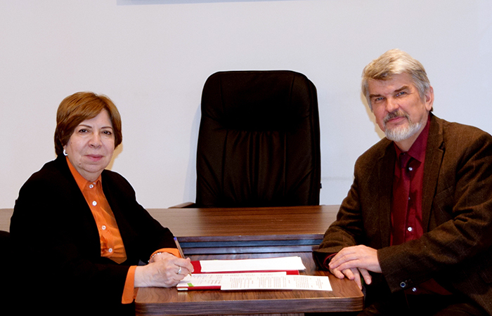 Institute of Botany will cooperate with the Biological Faculty of the Moscow State University