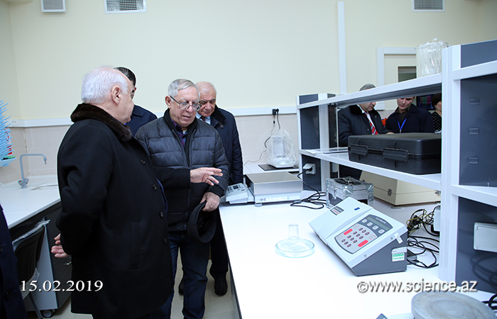 Delegation from ATU acquainted with the production process of ANAS High Technology Park