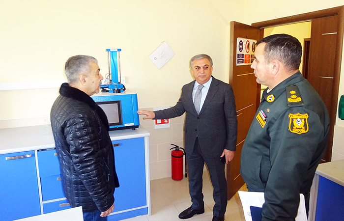 Employees of the AR Ministry of Defense visited ANAS High Technologies Park