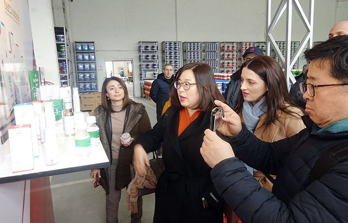 Scientists from South Korea visit the ANAS High Technology Park