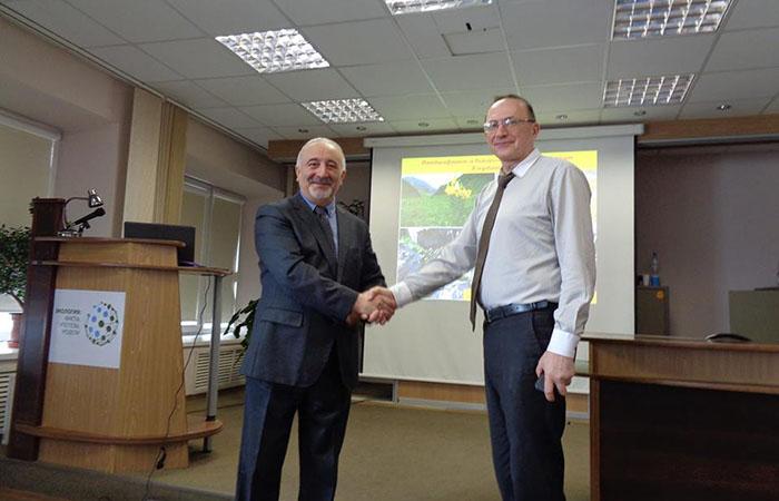 Zoologiya İnstitutunun direktoru Rusiya Elmlər Akademiyasında elmi ezamiyyətdə olub