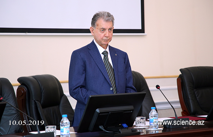 The president of ANAS met with the chairman of the Specialized masters' dissertation defense council