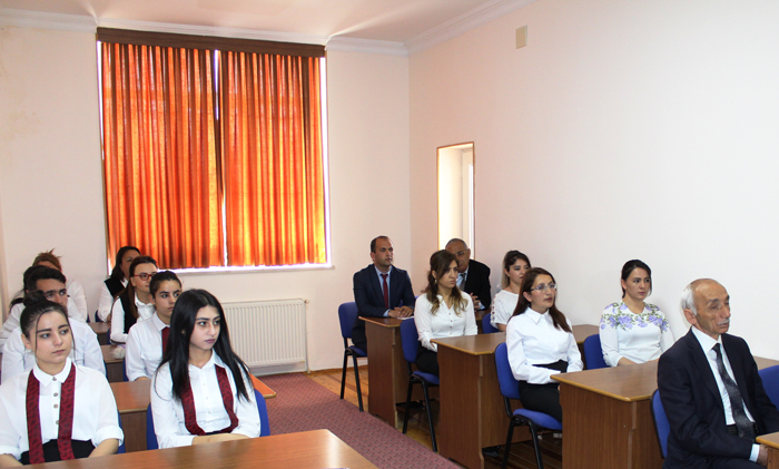 Nakhchivan Division greets students