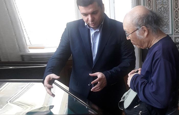 Professor of Korea's Seoul-Duksung University visited the Institute of Manuscripts of ANAS