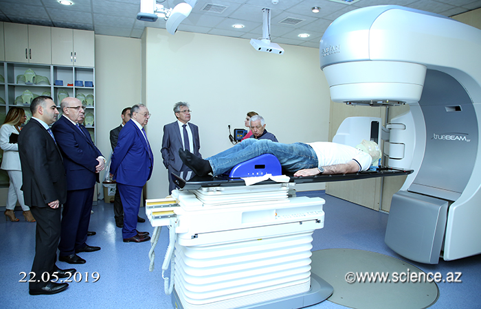 President of the Russian Academy of Sciences has been closely acquainted with the National Center of Oncology