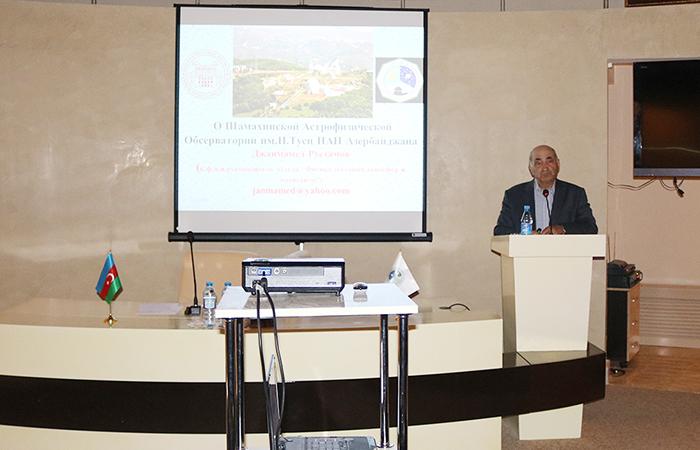 II Special Department held workshop at the Shamakhi Astrophysical Observatory