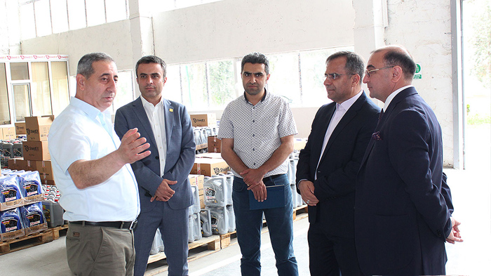 Chairman of the Board of West Azerbaijan Science and Technology Park visited the HT Park of ANAS