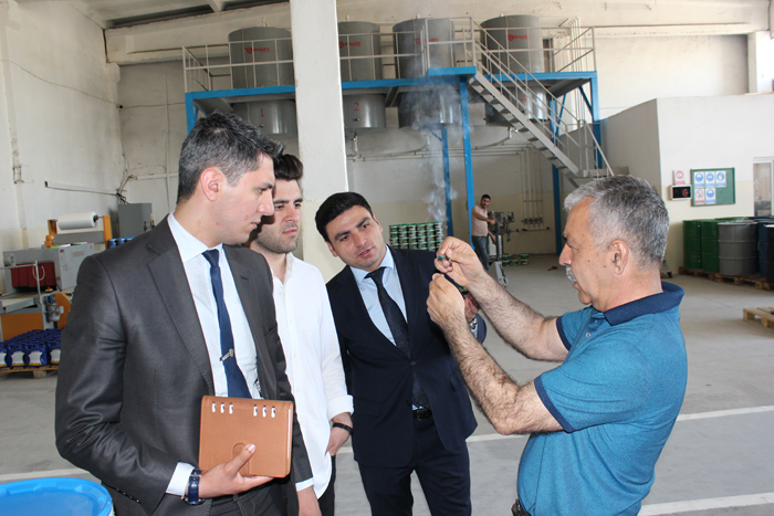 Representatives of a prestigious distribution company visited ANAS High Technologies Park