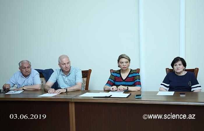 İctimai Elmlər Bölməsinin büro iclasında bir sıra elmi-təşkilati məsələlərə baxılıb