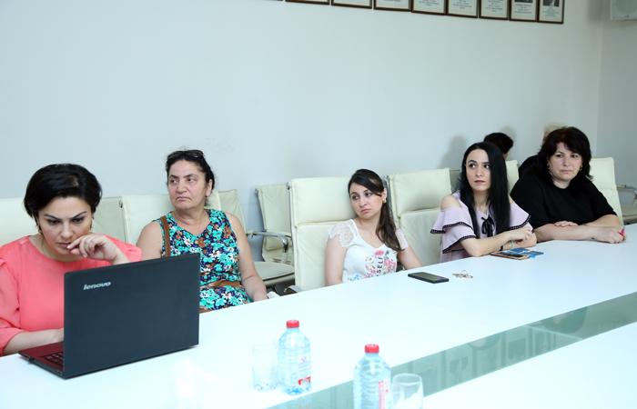 """""""Web of Science"""" platformasına dair növbəti maarifləndirici seminar keçirilib"""