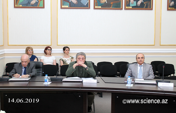 Academician Akif Alizadeh met with members of the Bureau of ANAS Division of Physical-Mathematical and Technical Sciences