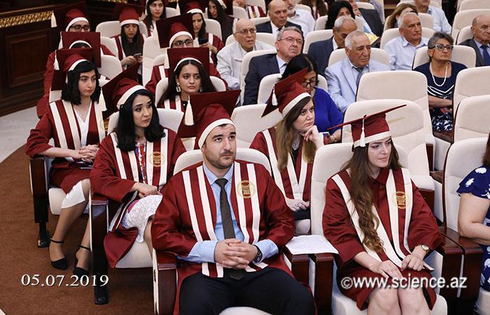 AMEA magistrlərinin Məzun günü keçirilib