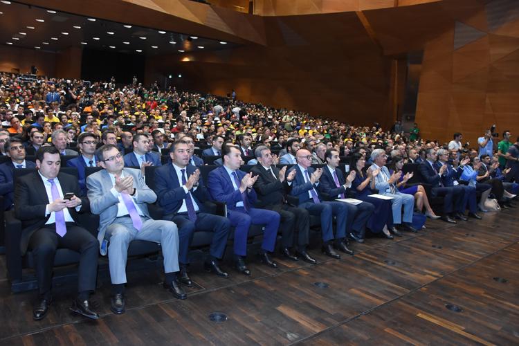 Bakıda 31-ci Beynəlxalq İnformatika Olimpiadasının açılış mərasimi keçirilib