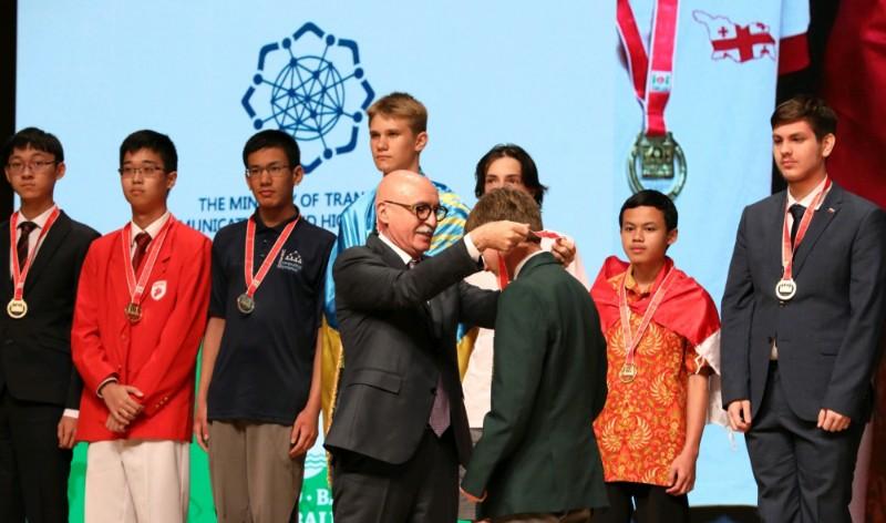 Bakıda keçirilən 31-ci Beynəlxalq İnformatika Olimpiadasına yekun vurulub