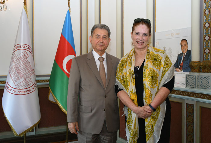 Ambassador of the Republic of Peru to Azerbaijan visited ANAS Presidium