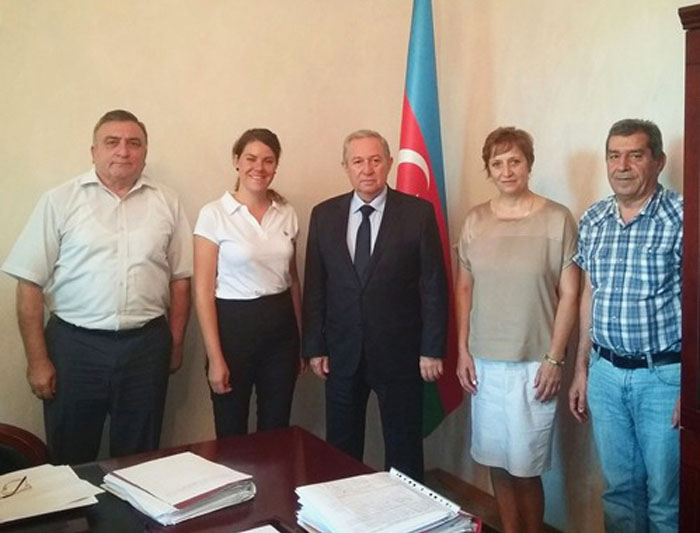 Bulgarian scientists visited ANAS Institute of Catalysis and Inorganic Chemistry
